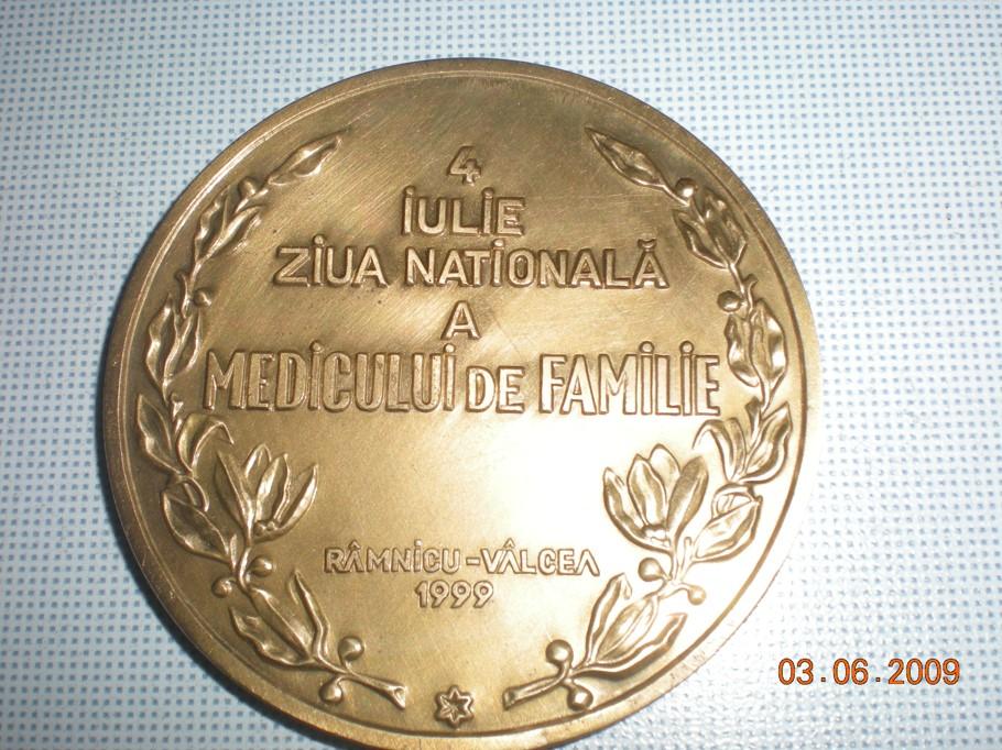 Medalia Zilei Naționale a Medicului de Familie